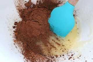 Añadir Cacao en Polvo