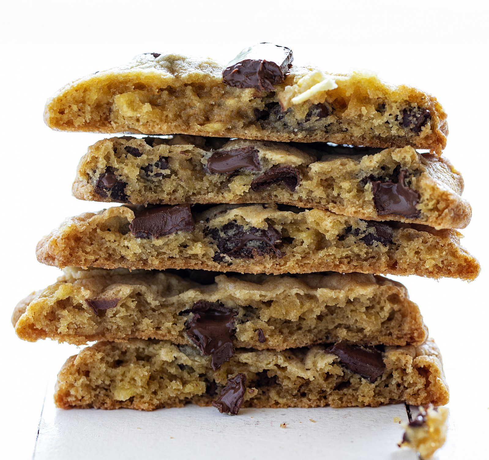 Cómo hacer galletas de chocolate con papas fritas