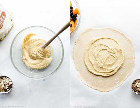Crema de almendra Frangipane para galette