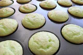 Cupcakes de pistacho al horno