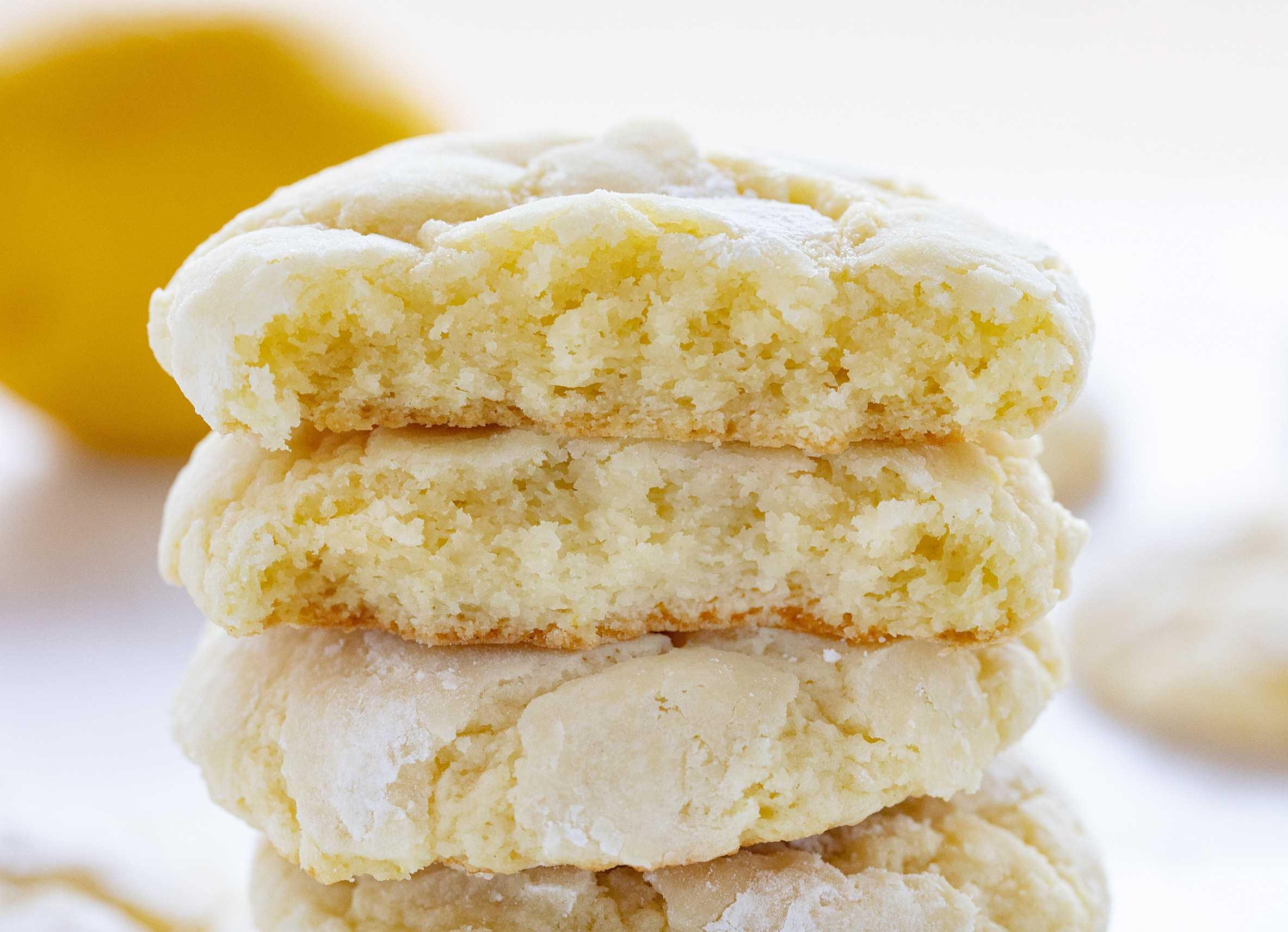 Cómo hacer galletas de limón