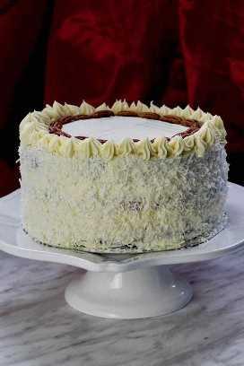auténtico pastel de colibrí