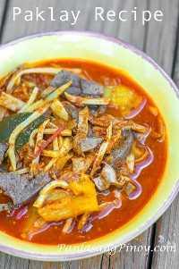 receta paklay filipino