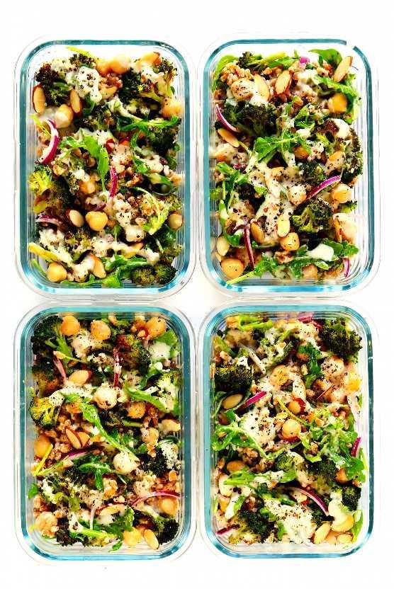 Preparacion de comida saludable