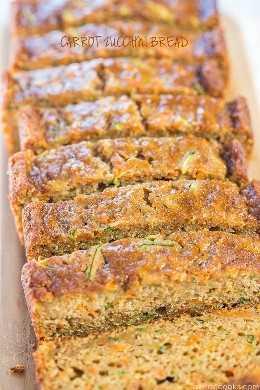 Pan de zanahoria y calabacín: rápido, fácil, ¡un tazón, sin batidora! ¡Súper suave, húmedo y sabe tan bien que olvidará que está en el lado más saludable!