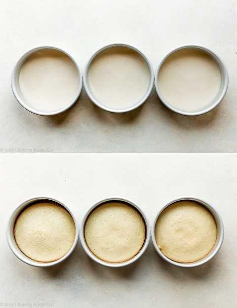 pasteles en moldes para pasteles de 6 pulgadas