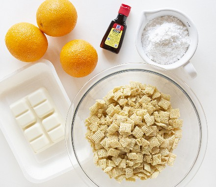Ingredientes de Chow Puppies de naranja