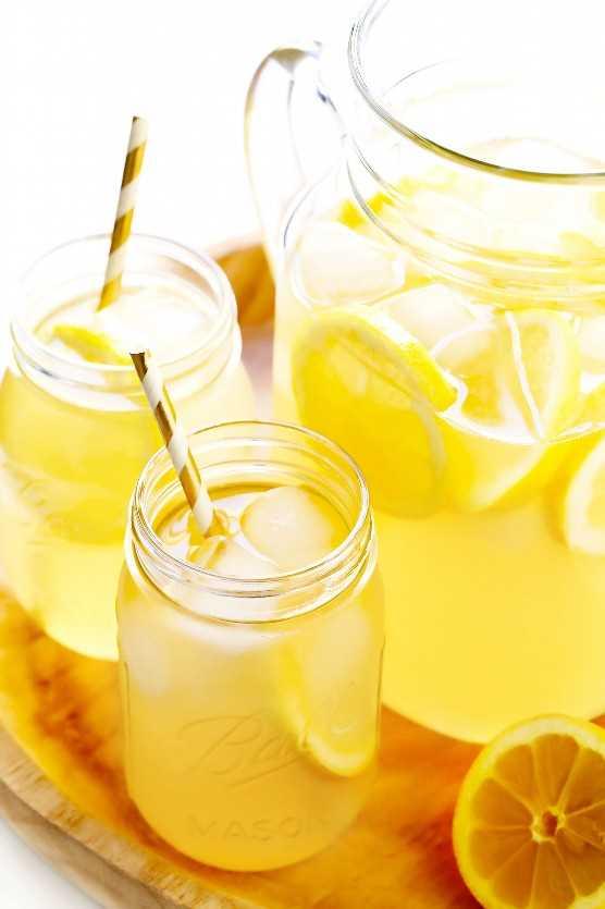 Receta de limonada casera fresca