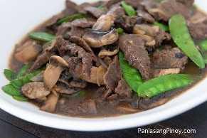 Carne Asiática Con Receta De Hongos