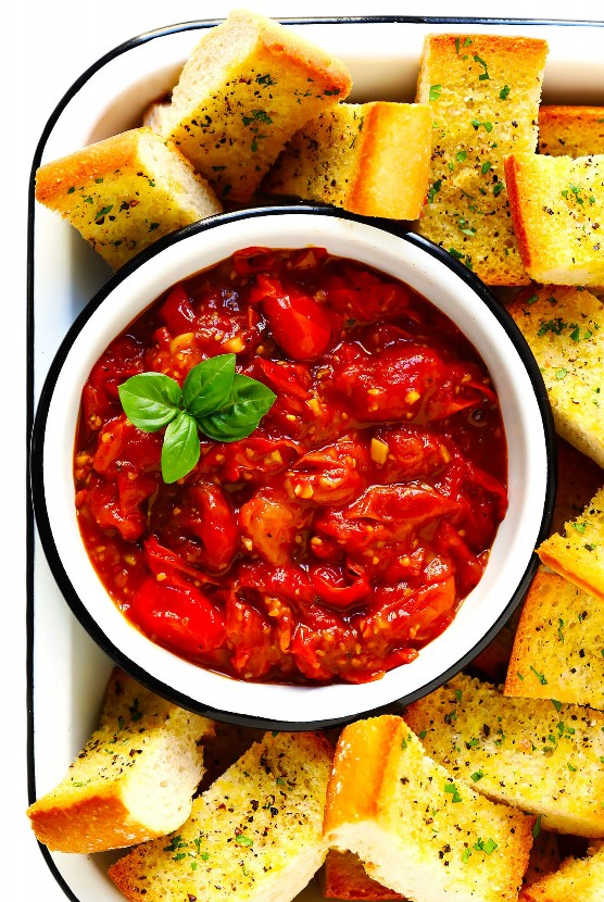 Crema De Tomate Ráfaga De 5 Ingredientes