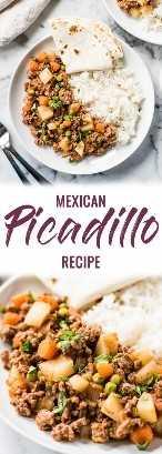 pin para la receta de picadillo mexicano