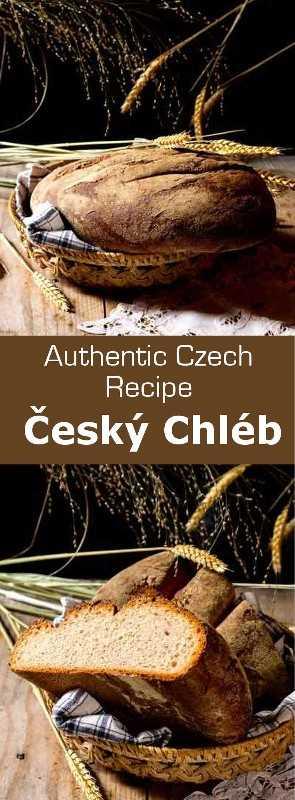 Český chléb es el pan tradicional checo. Crujiente a la perfección, se prepara, como muchos panes eslavos, con harina de centeno. #CzechRepublic #CzechCuisine #CzechRecipe #Bread #CzechBread #Vegetarian #Vegan #WorldCuisine # 196flavors