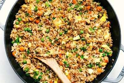 arroz frito fácil