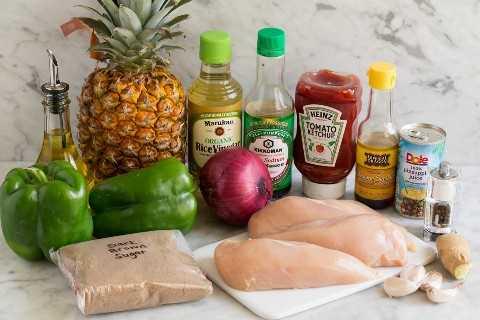 Brochetas De Pollo Ingredientes