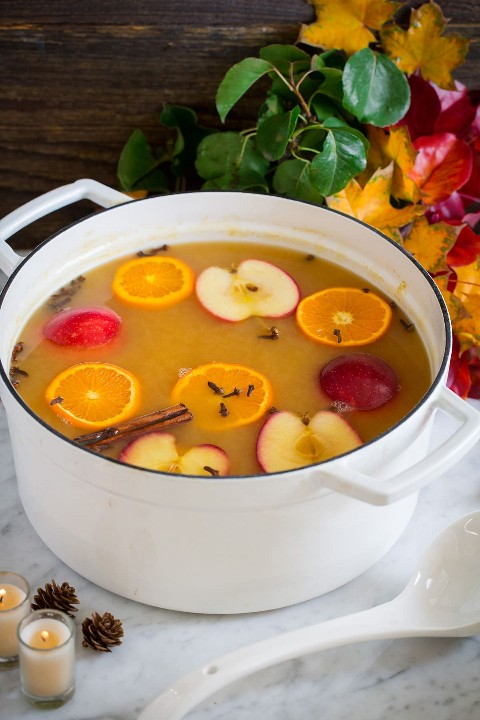 Wassail Warm Autumn Punch