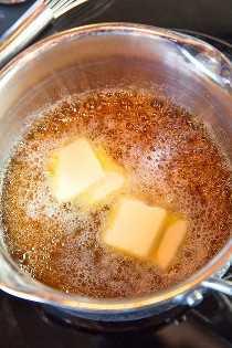 Pasos para hacer salsa de caramelo
