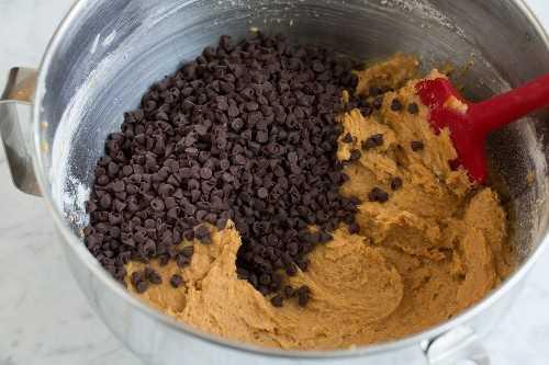 Barritas de calabaza con chispas de chocolate