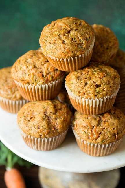 Muffins de zanahoria y especias