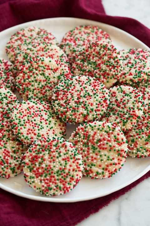 Espolvorear galletas