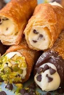 Cannoli (recetas de relleno y conchas) | Cocina con clase