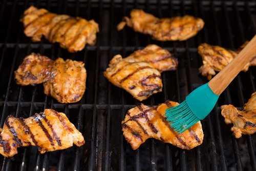 Pollo a la Parrilla con Miel y Naranja
