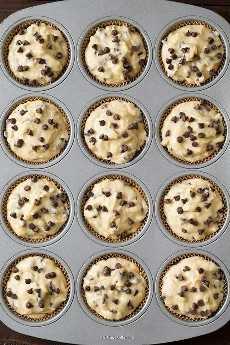 Muffins de chispas de chocolate estilo panadería   Cocina con clase.