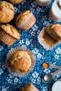 Muffins de plátano sin gluten | Cocina con clase