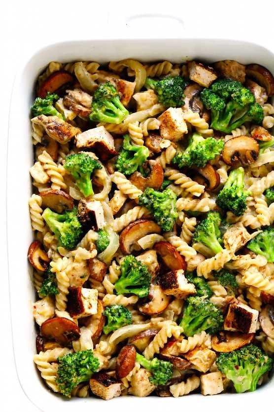 Receta de cazuela de pollo con brócoli
