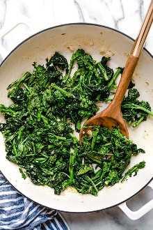 Cómo hacer brócoli rabe con pasta