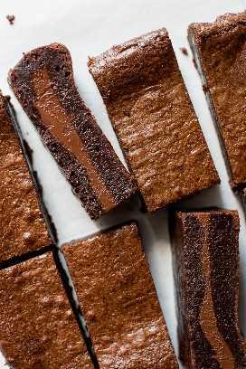 Brownies Rellenos de Nutella