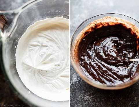 hacer mousse de chocolate