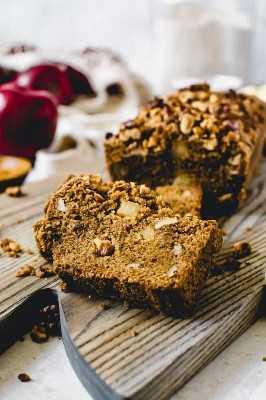 pan de canela y manzana