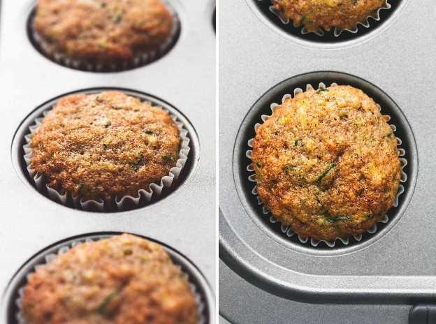 Muffins de pan de calabacín receta fácil   lecremedelacrumb.com