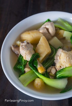 Nilagang Manok Receta Sopa De Pollo