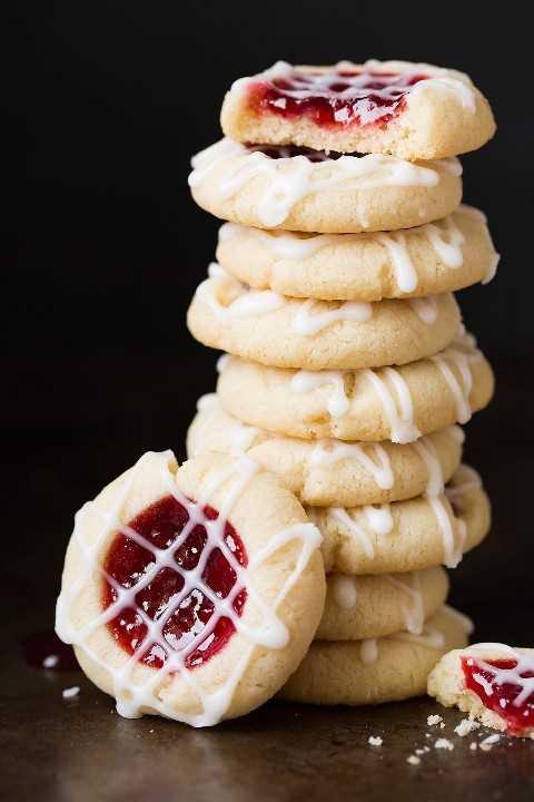 Pila de cookies de huella digital