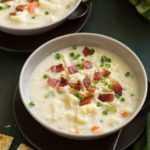 Receta de sopa de coliflor (cremosa y con queso)