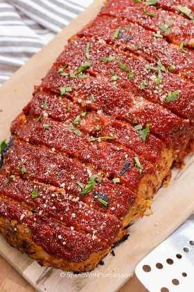 Pastel de carne de pavo elaborado con la mejor receta de pastel de carne de pavo
