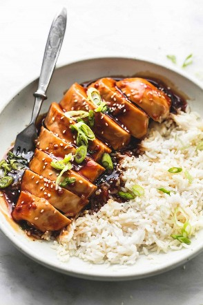 El mejor pollo teriyaki al horno