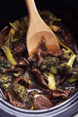 Carne de Brócoli a Cocción Lenta