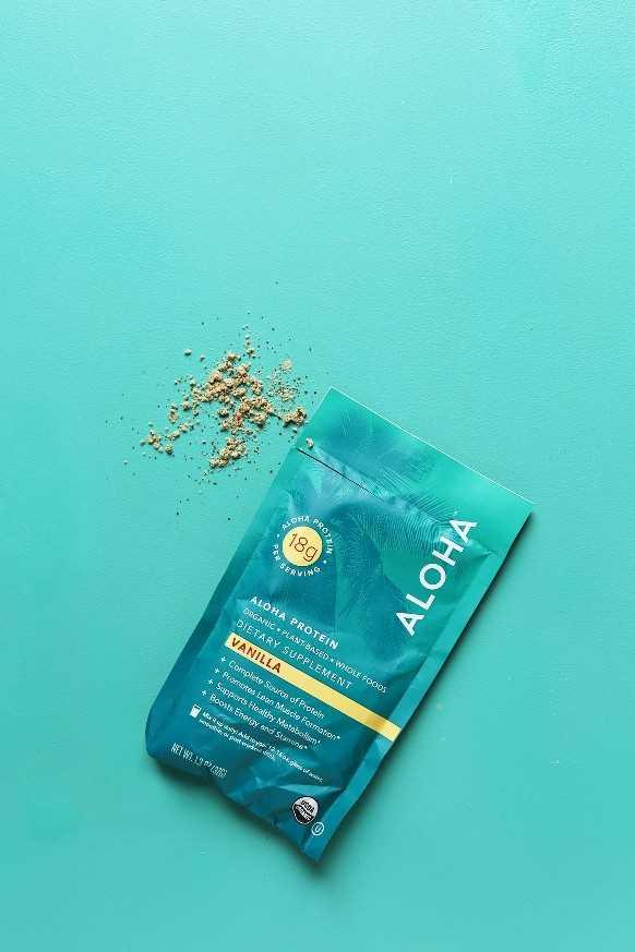 Aloha vegan vainilla proteína en polvo revisión