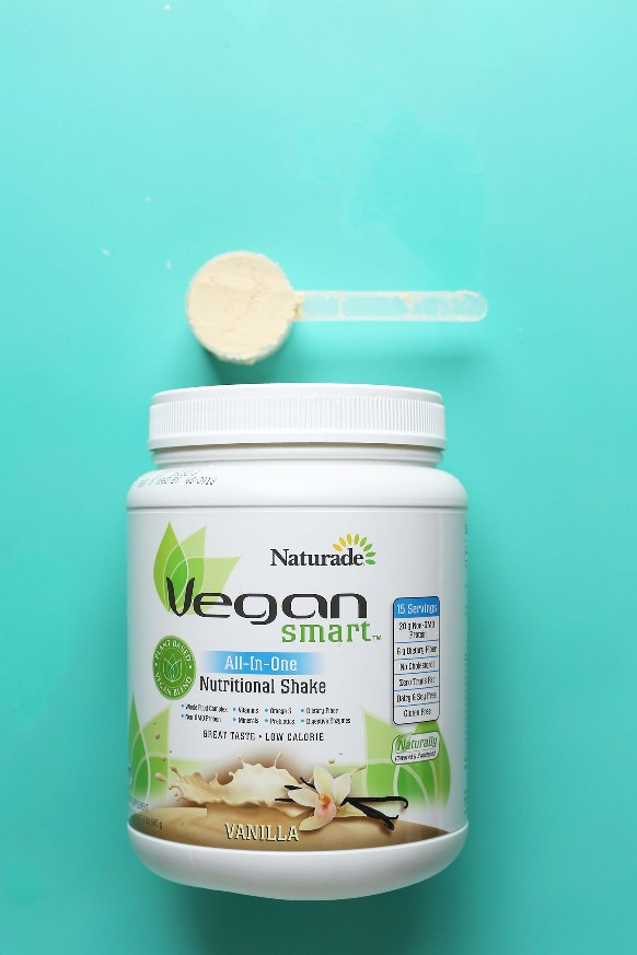 Revisión de polvo de proteína de vainilla vegana de Naturade