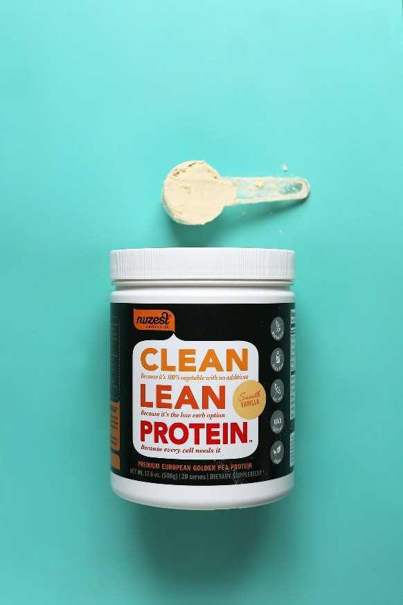 Clean Lean Protein vainilla proteína en polvo revisión