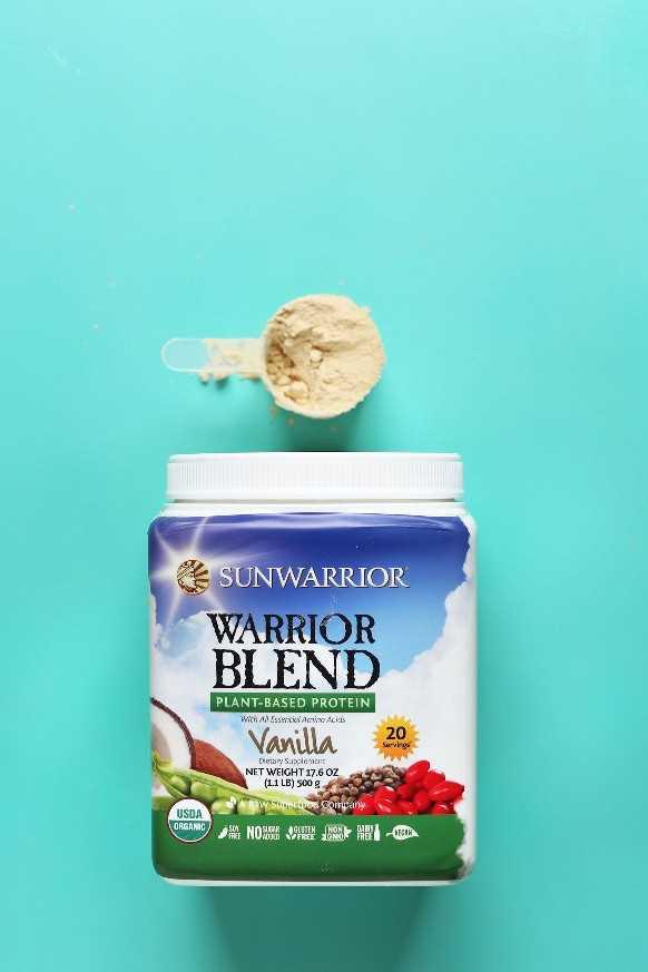 Revisión de polvo de proteína de vainilla vegana Sunwarrior