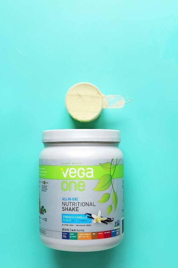 Revisión de polvo de proteína de vainilla vegana Vega One