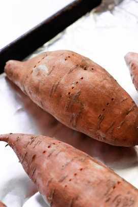 cocinar batatas