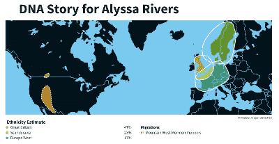 Mi etnia trazada en un mapa mundial
