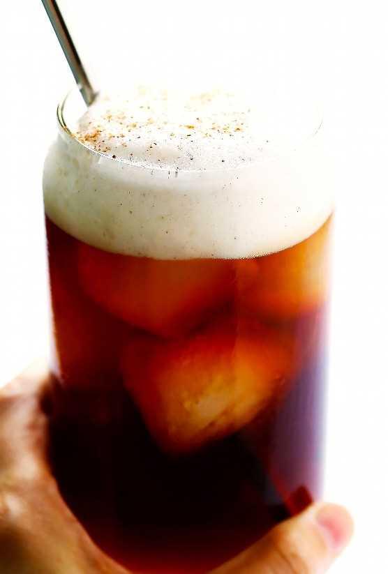 Café gelado de abóbora (Starbucks Copycat)