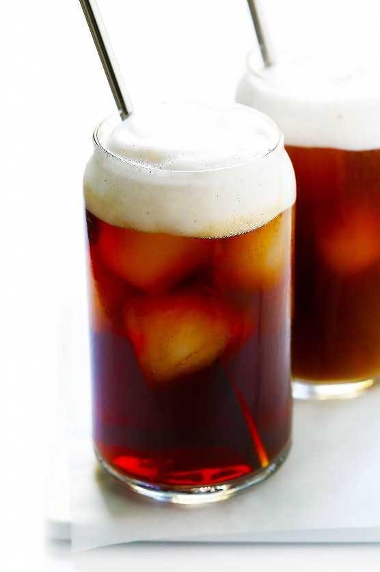 Tempero de abóbora Cerveja gelada Café gelado