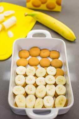 cómo hacer pudín de plátano desde cero