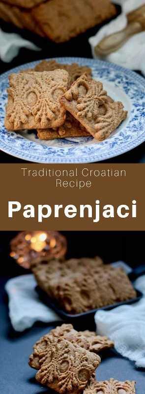Paprenjaci (paprenjak singular) son galletas tradicionales de origen croata con sabor a miel y pimienta negra. #Croacia #Receta de Croacia #Cocina de Croacia #Balkans #Cocina Mundial # 196 sabores
